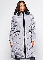 Женская куртка CM-7801-10 Серый