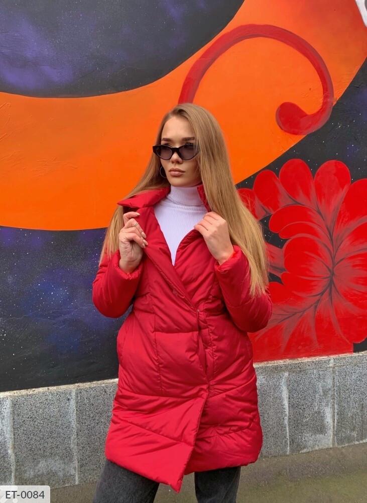 Женская куртка с воротником
