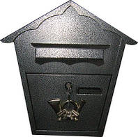Поштова скриня ProfitM СП-1 Срібло 1232, КОД: 1624704