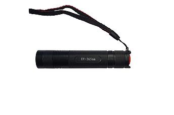 Ліхтарик світлодіодний ультрафіолетовий 365 Nm 10Вт, фото 2