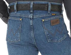 Джинсы Wrangler 36MWZDS Cowboy Cut Slim Fit Dark Stone, фото 3