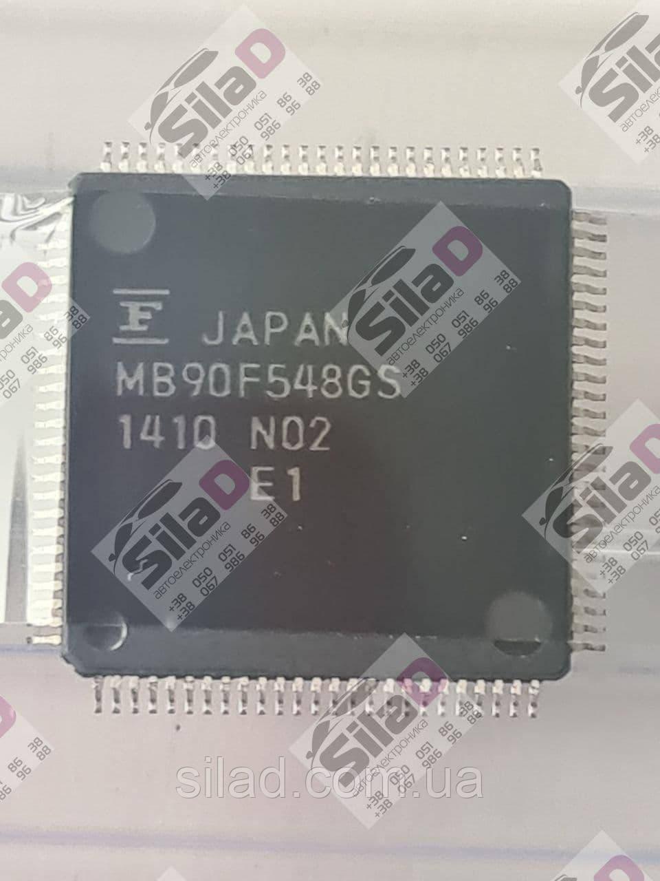 Микроконтроллер MB90F548GS Fujitsu Microelectronic корпус LQFP100