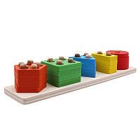 Дитяча розвиваюча іграшка Геометричні фігури 20шт  FS2231-00, фото 1