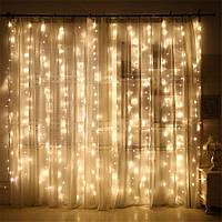 Гирлянда Бахрома 4x0,6 метра 96 LED, 19 нитей, 220В, IP44, (улица и дом)  FS-1792-65