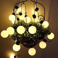 Уличная ретро-гирлянда 5 метров 20 LED, 220В (улица и дом) FS-1799-65