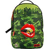 Рюкзак городской Kite City K20-2569L-3 зеленый