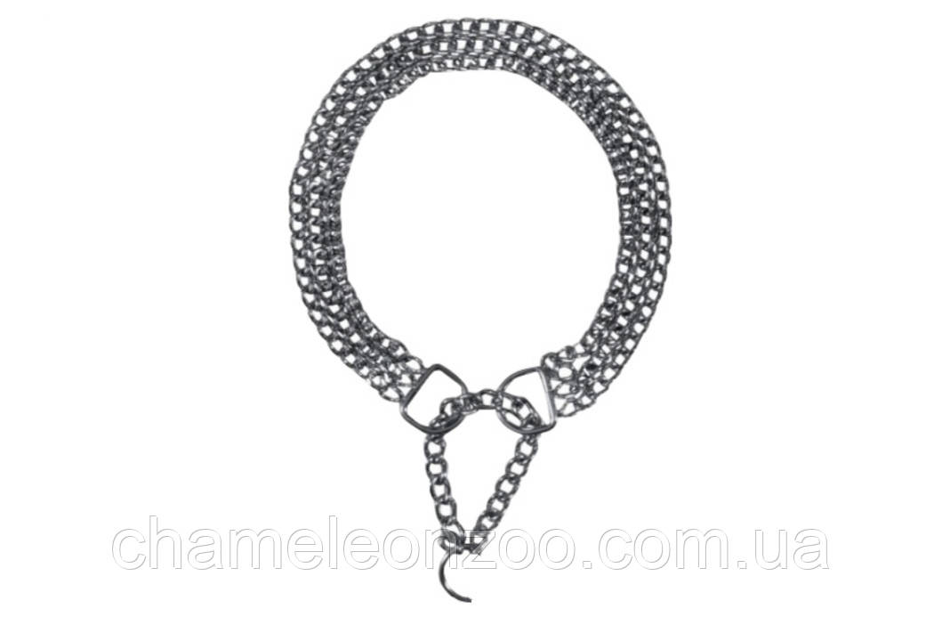 Ланцюжок-полуудавка трирядна 65 см / 2.5 мм (2269)Trixie