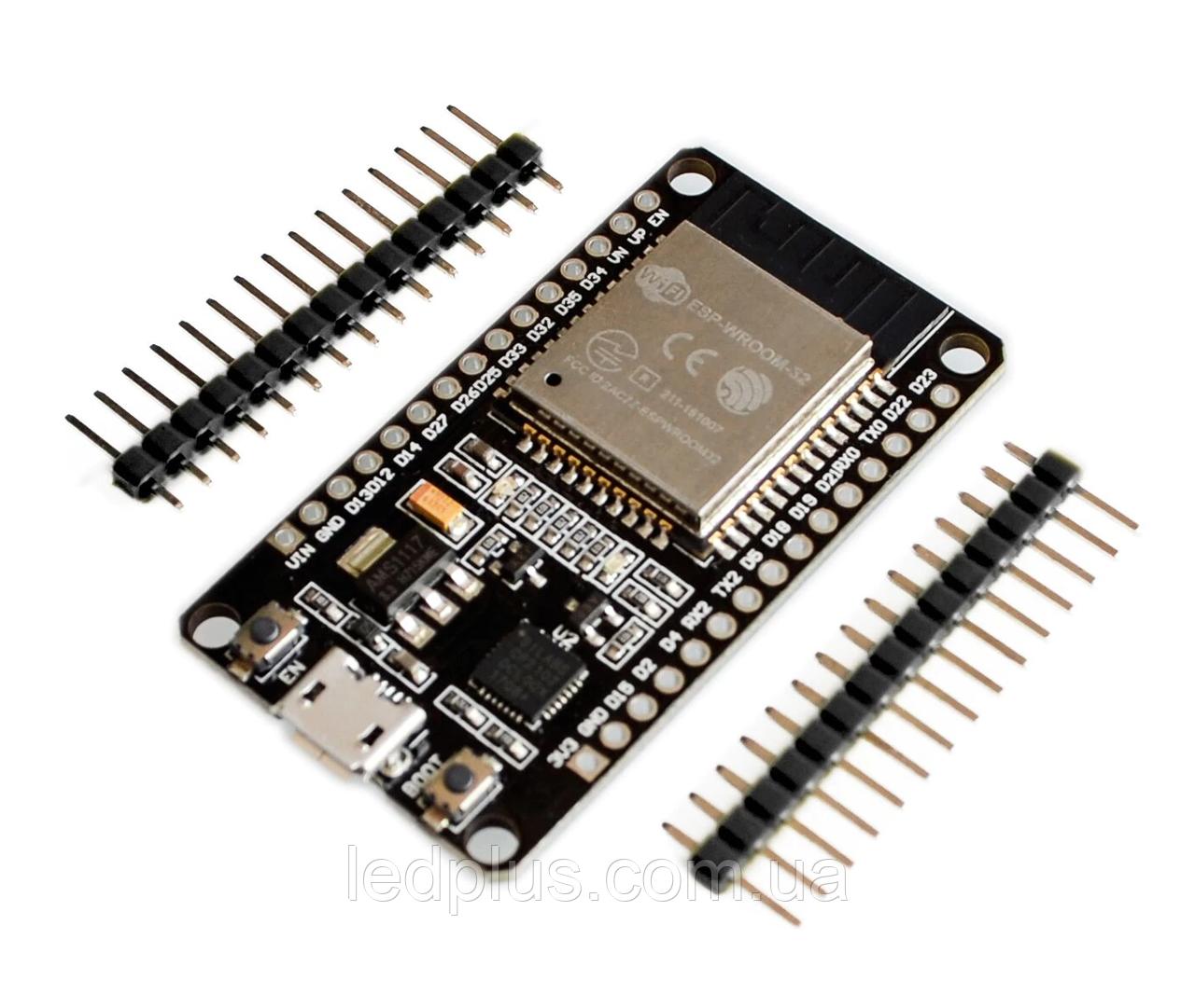 Модуль ESP32 WiFi Bluetooth WROOM32 DevKit V1 CP2102