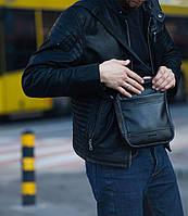 Мужская кожаная сумка TOTAL через плечо, фото 1