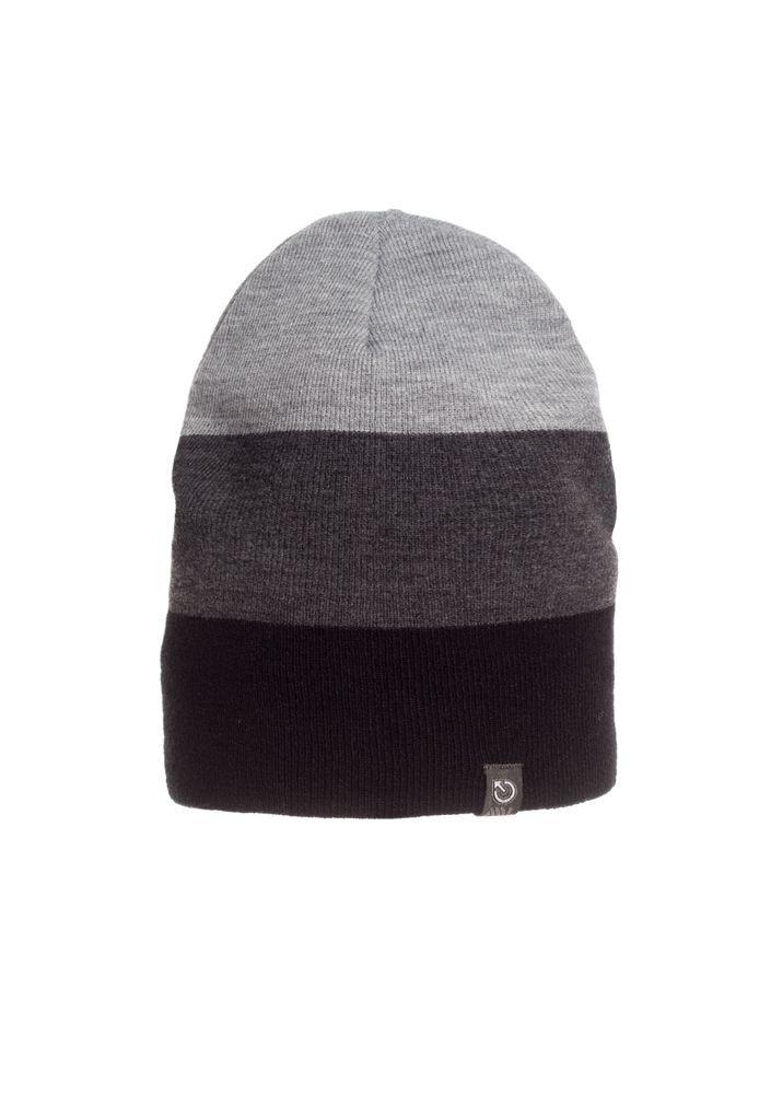 Модная качественная теплая мужская  шапка.