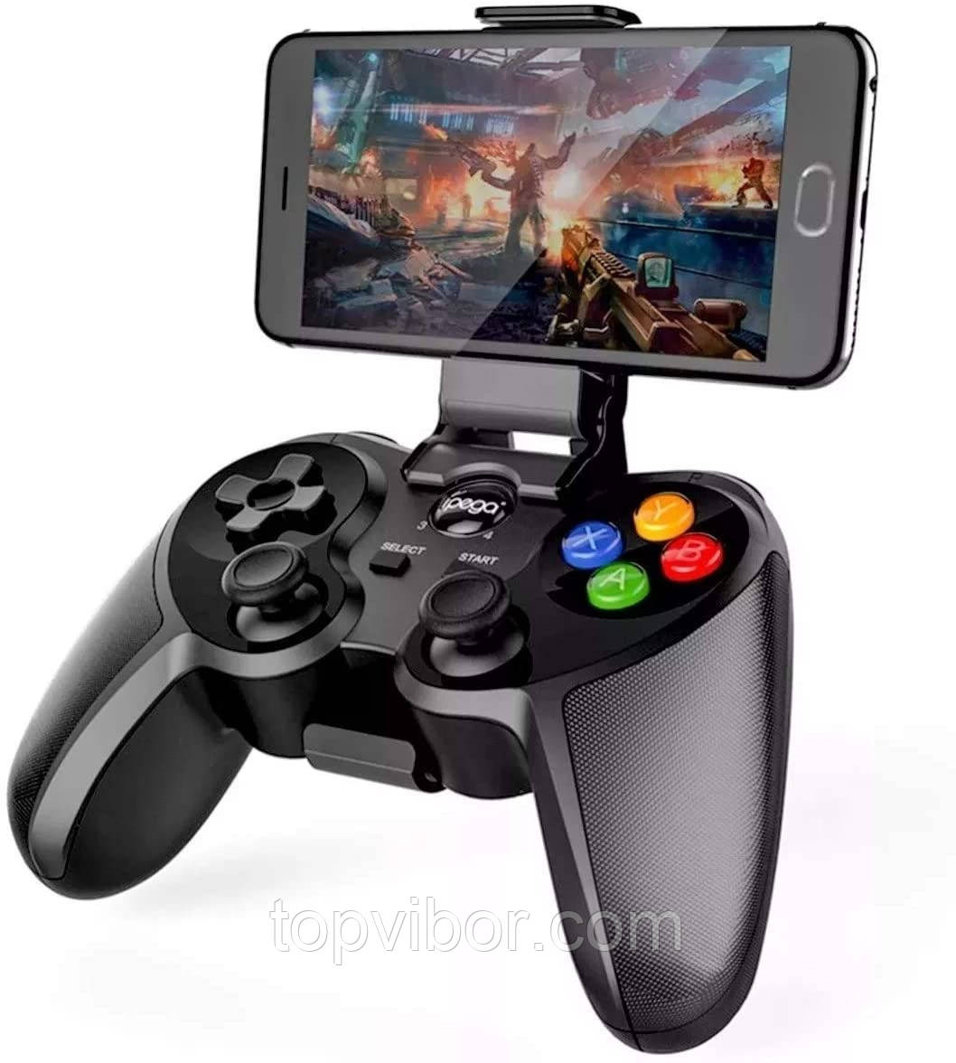 Геймпад для телефона (айфона/андроид) Ipega PG-9078, беспроводной джойстик для телевизора | джостік