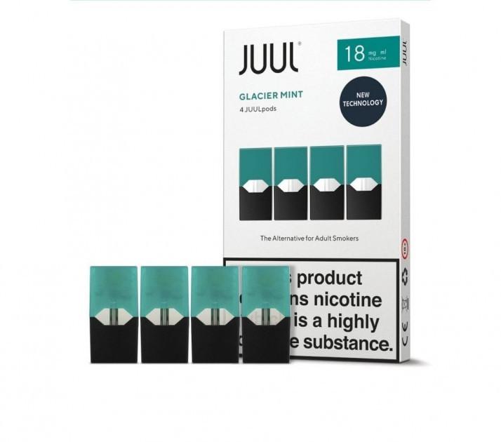 Поды картриджи Juul Mint 4 х 0.7 мл (Мята)