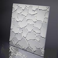 3D Panel Mold For Plaster/Concrete Code f9 Size 50x50 cm
