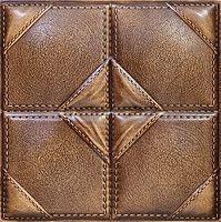 3D Panel Mold For Plaster/Concrete Code f14 Size 40x40 cm