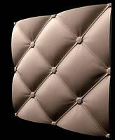3D Panel Mold For Plaster/Concrete Code f17 Size 50x50 cm