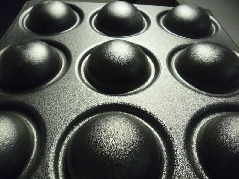 3D Panel Mold For Plaster/Concrete Code f37 Size 45x45 cm