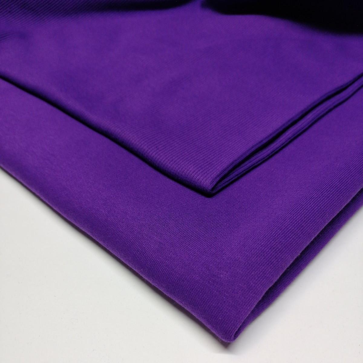 Кашкорсе Темно-фиолетовое для трехнитки (начес).