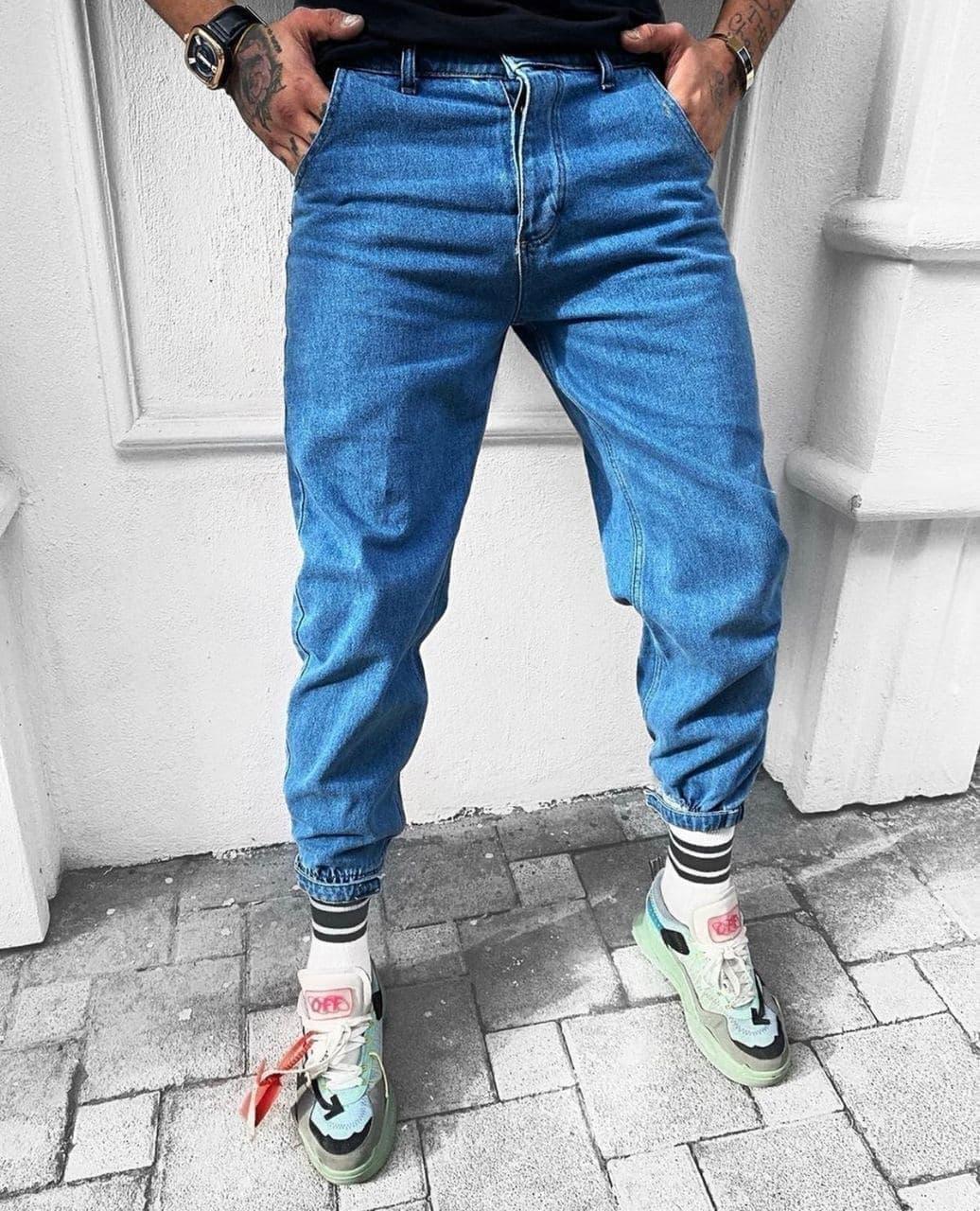 Мужские джинсы МОМ 2860 blue