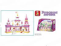 Конструктор Замок Маленькой принцессы (Розовая мечта) 385 деталей