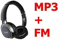 Беспроводные наушники ATLANFA AT-7601 + MP3 + FM Радио + слот под microSD!