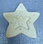 Гипсовая фигурка для раскрашивания Снежинка, фото 4