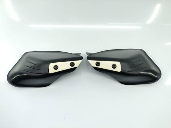 Защита для рук универсальная для мотоцикла квадроцикла с крепление под зеркало пара, фото 2