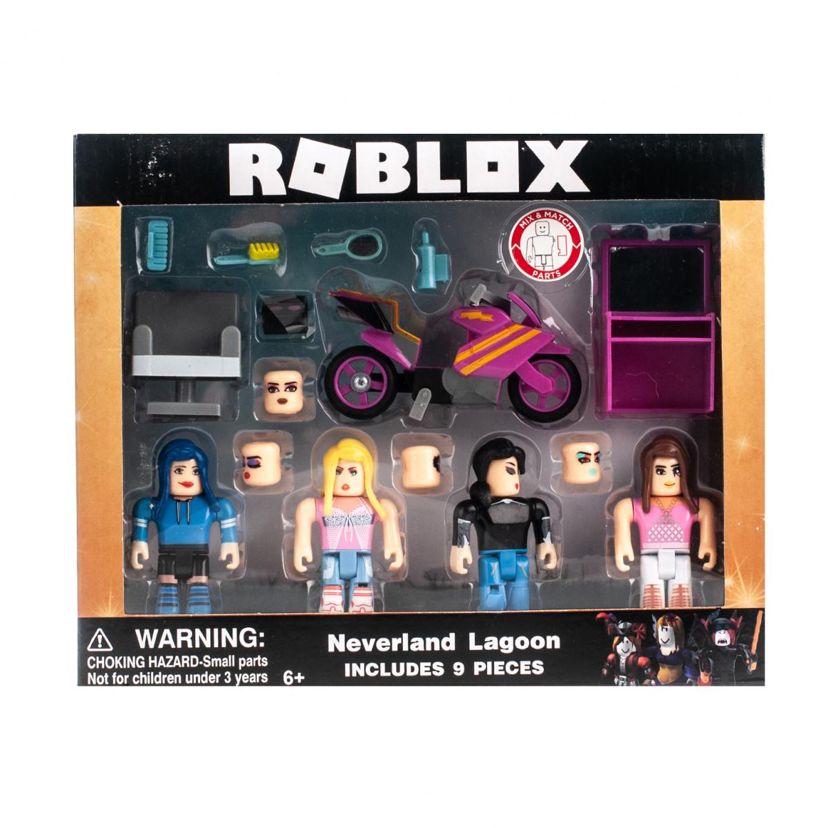 Игровой набор Roblox Neverland Lagoon 4 фигурки с аксессуарами
