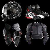 Шлемы, экипировка для мототехники