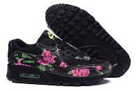 Женские кроссовки Nike Air Max 90 Rose black, фото 1