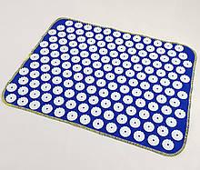 Килимок масажний Аплікатор Кузнєцова (для спини, ніг) OSPORT Їжачок 188 (apl-004) Синьо-білий