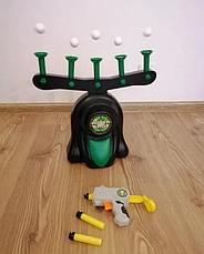 """Воздушный тир, Детская игра пистолет с дротиками и летающие мишени Hover Shot, """"Стрелялки"""" с бластером, фото 3"""
