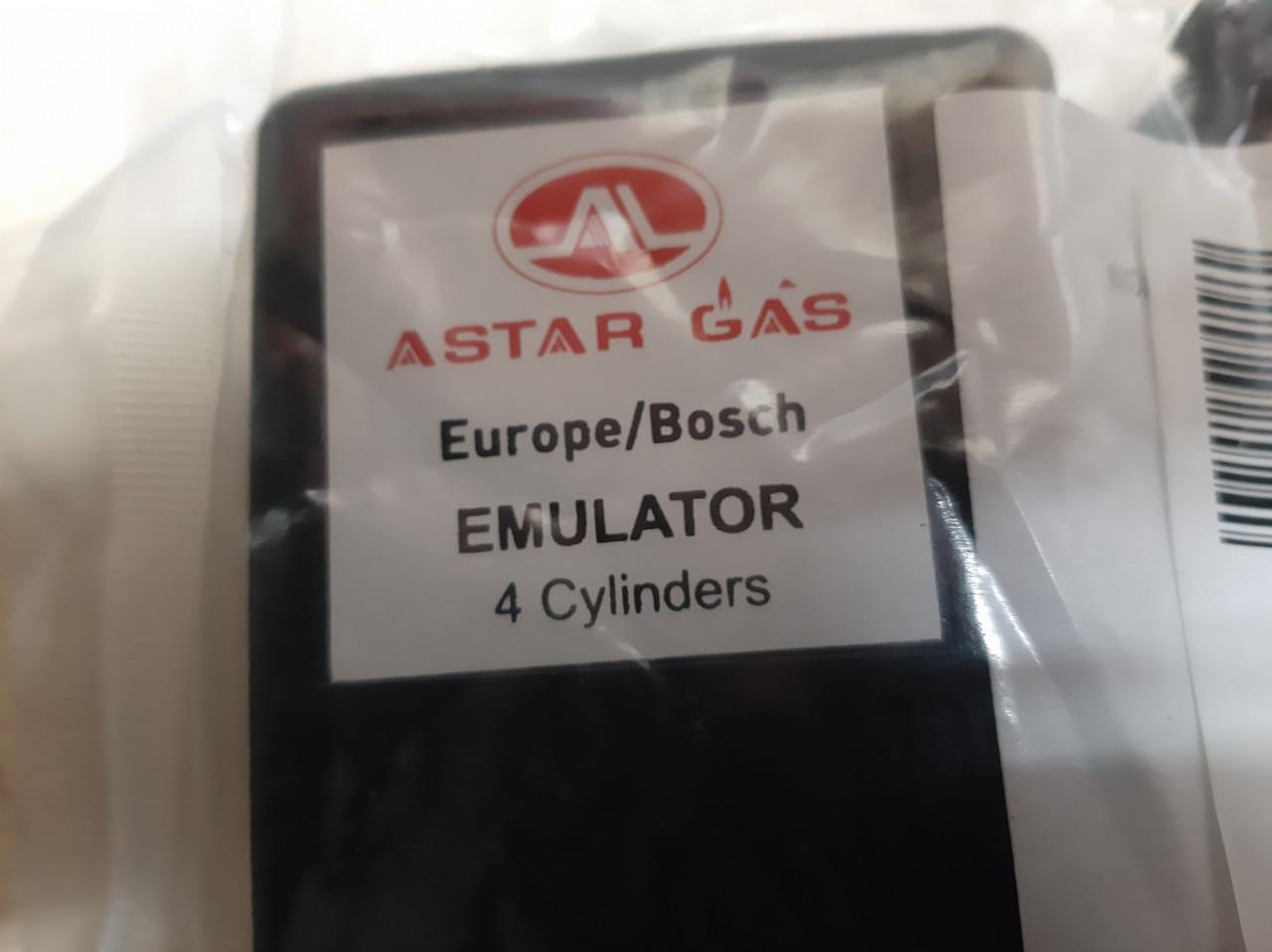 Эмулятор форсунок Astar Gas на 4 цил с фишками Bosch