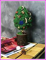 Декоративная Елка из стабилизированного мха. Декор для дома офиса Оригинальный подарок