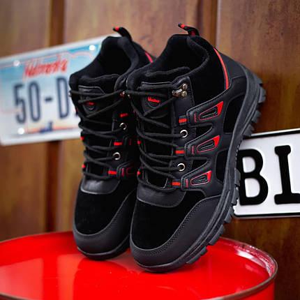"""Зимние ботинки с мехом Gammi BO """"Черные"""", фото 2"""