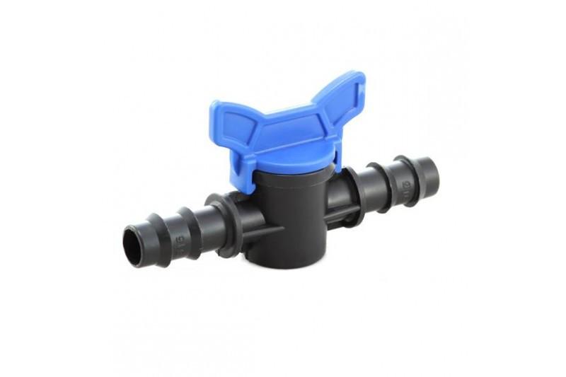 Кран шаровый проходной Mavi для трубки 16 мм (9105)