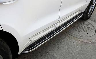Подножки Porsche Macan пороги ступеньки площадки