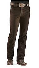 Американские джинсы Wrangler Slim Fit Black Chocolate