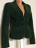 Шикарный женский вельветовый пиджак жакет 36 размер, фото 2