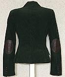 Шикарный женский вельветовый пиджак жакет 36 размер, фото 3