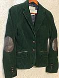Шикарный женский вельветовый пиджак жакет 36 размер, фото 5