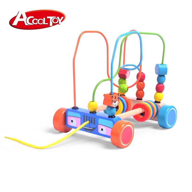 """Развивающая игрушка-каталка """"Автобус"""" AcoolToy, AC6625"""