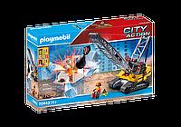 Игровой набор Канатный экскаватор Playmobil 70442
