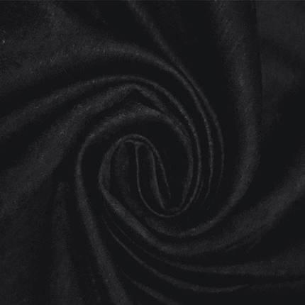 """Готовые Портьеры """"Софт Чорный"""", однотонный, фото 2"""