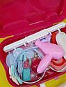 Увлекающий набор для макияжа детский с выдвижным чемоданчиком, фото 2