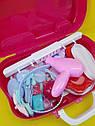 Увлекающий набор для макияжа детский с выдвижным чемоданчиком, фото 3
