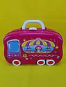 Увлекающий набор для макияжа детский с выдвижным чемоданчиком, фото 4