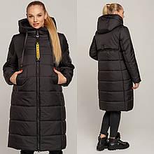 Стильне зимове жіноче пальто Одрі, р-ри 46-56