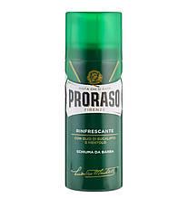Пена для бритья с эвкалиптом и ментолом Proraso Green 400 ml
