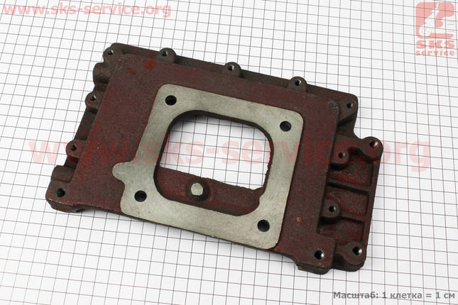 Пластина крепления радиатора чугунная R175A/R180NM, фото 2