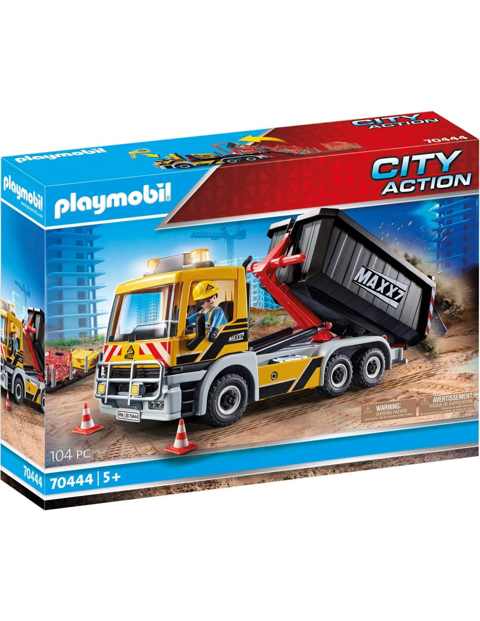 Игровой набор Playmobil 70444 Грузовик с двумя кузовов